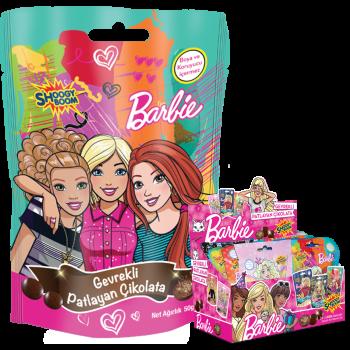 Barbie Gevrekli Patlayan Çikolata Topları  (50g)