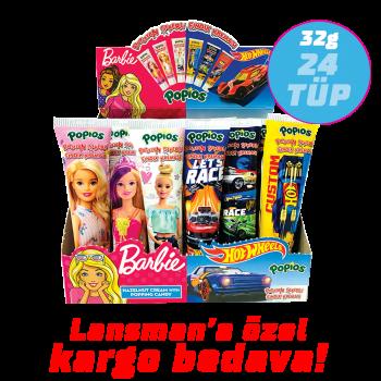 32g Barbie Hot Wheels Popios Patlayan Şekerli Fındık Kreması