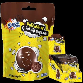 Patlayan Sütlü Çikolata Topları (40g)